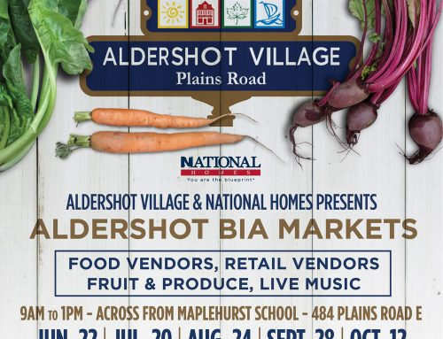 Aldershot Village BIA Markets!