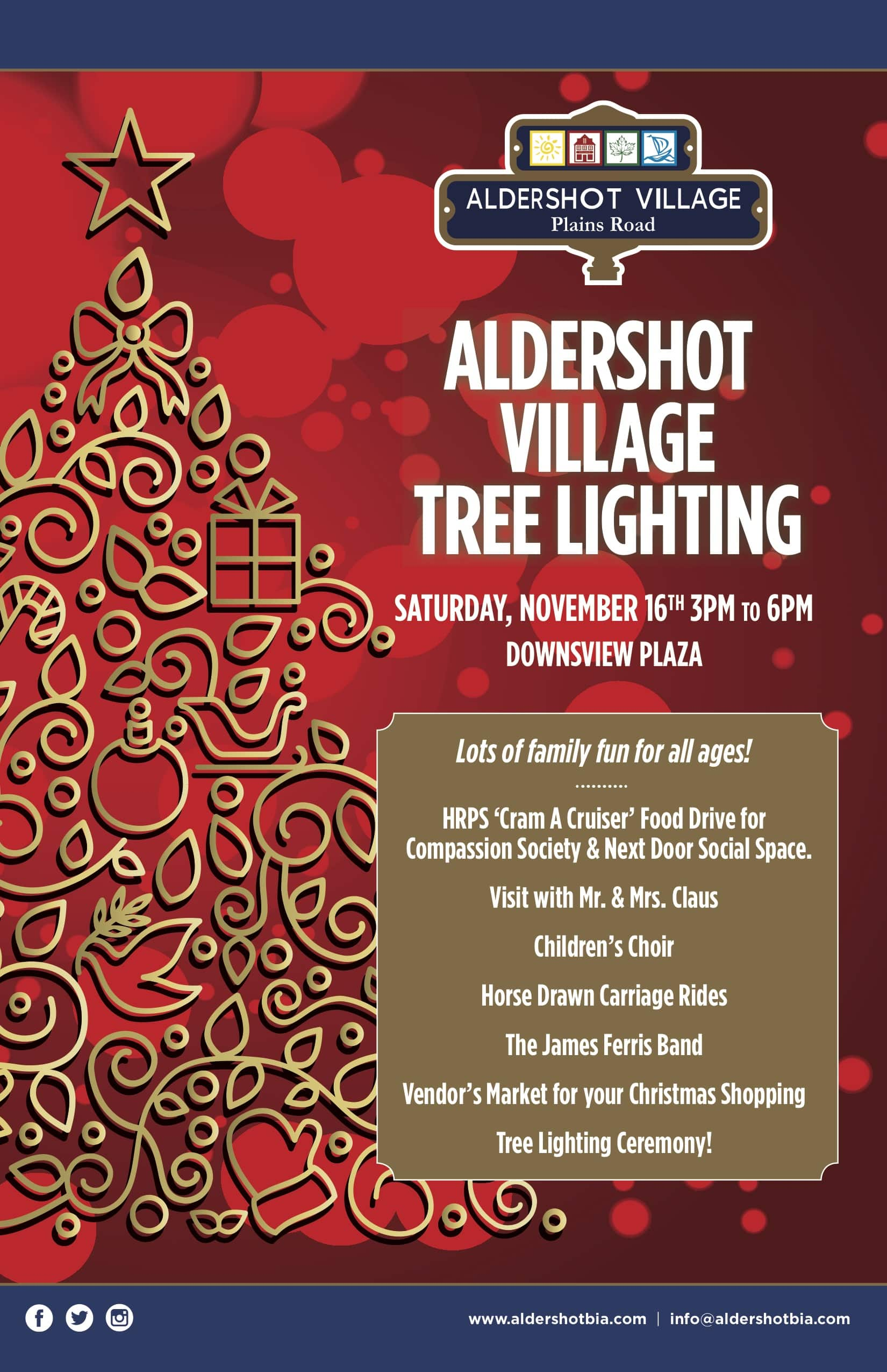 Aldershot Village Tree Lighting